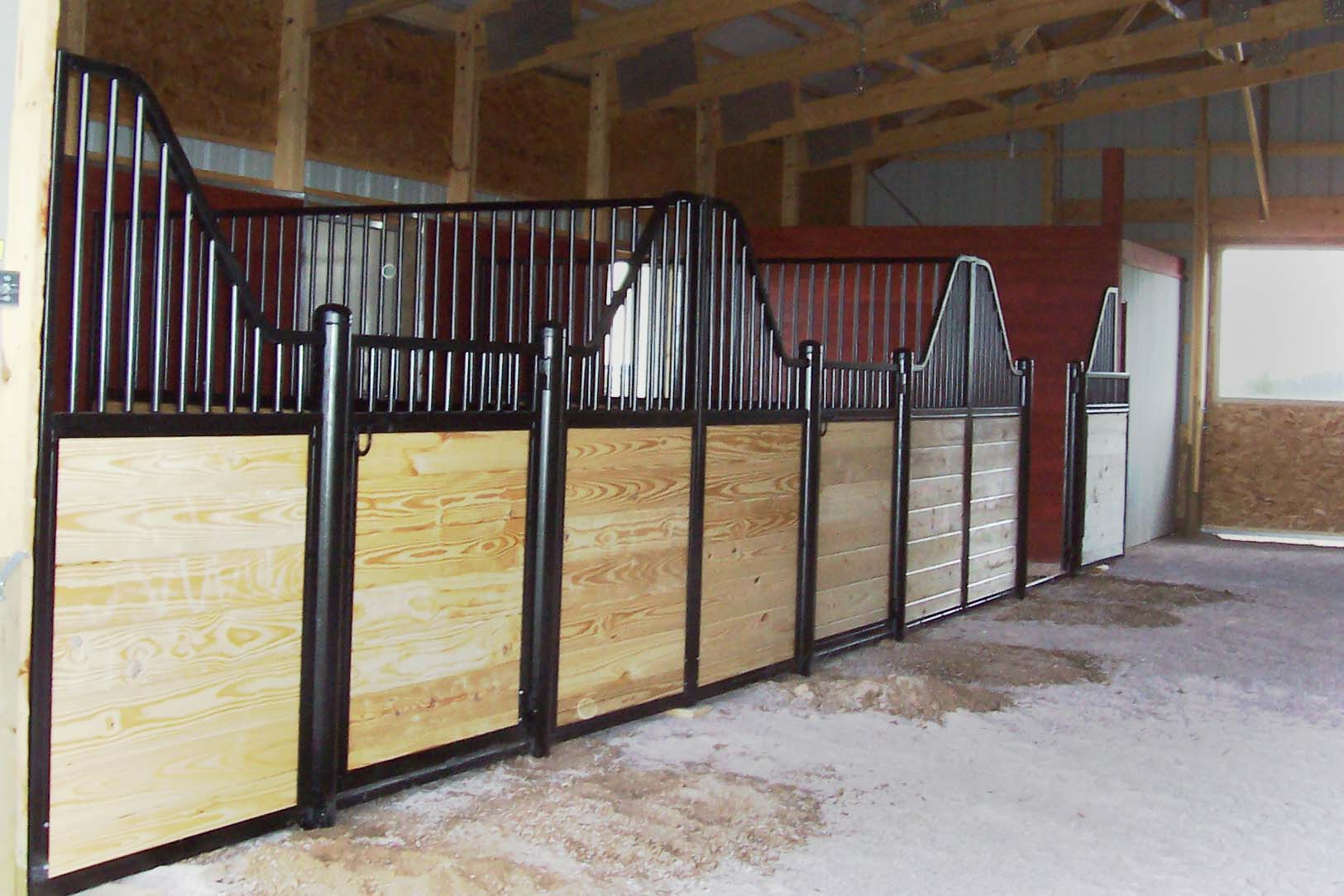 Stablemaster Products Our Custom Stall Work